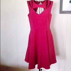 Betsy Johnson Peek a boo dress